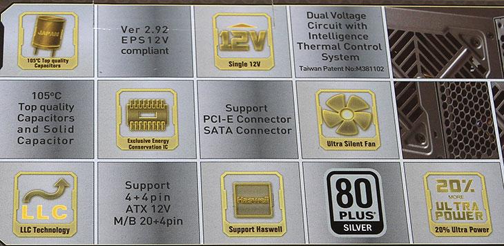 슈퍼플라워 SF-500R14SE Silver Green FX, 후기 벤치마크 ,성능,슈퍼플라워, SF-500R14SE Silver, Green FX, 후기,사용기,리뷰,IT,IT제품리뷰,오실로스코프,Gwinstek,파워서플라이,슈퍼플라워 SF-500R14SE Silver Green FX 후기를 올려봅니다. 벤치마크를 통해서 성능을 알아볼것인데요. 이 제품은 비교적 저렴한 가격에 괜찮은 성능과 실버등급의 효율을 갖은 물건 입니다. 5만원대의 가격에서 실버등급이 흔하진 않은데요. 슈퍼플라워 SF-500R14SE Silver Green FX는 비슷한 가격에 브론즈급의 파워서플라이와는 확실히 차별화 됩니다 예전에는 그래도 실버급 정도의 파워서플라이를 사용하려면 10만원대의 가격은 해야 가능했는데요. 스마트기기들이 PC시장을 압박하면서 컴퓨터 시장쪽도 많은 변화가 있는듯합니다. 고출력의 파워서플라이외에 500-700W급의 파워서플라이에서 효율을 좀 더 올리고 품질을 올린 제품들이 나오고 있는것입니다. 슈퍼플라워 SF-500R14SE Silver Green FX가 그런 제품인데요. 20%,50%,100% 로드에서 각각 85%,88%,85%의 효율을 보여줘서 상당히 괜찮은 모습을 보여줍니다. 효율이 높으면 전력소비에서도 좀 더 이득을 볼 수 있으며 발열도 줄일 수 있어서 안정성을 좀 더 높일 수 있습니다. 효율만 높은게 전부가 아니라 각 부품을 신뢰도 높은 부품을 사용하며 7년의 무상 보증기간을 제공함으로써 제품의 안정성에 대한 보증도 합니다.