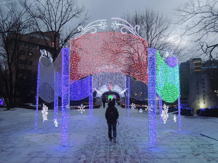 태백산 눈꽃축제 눈축제장소