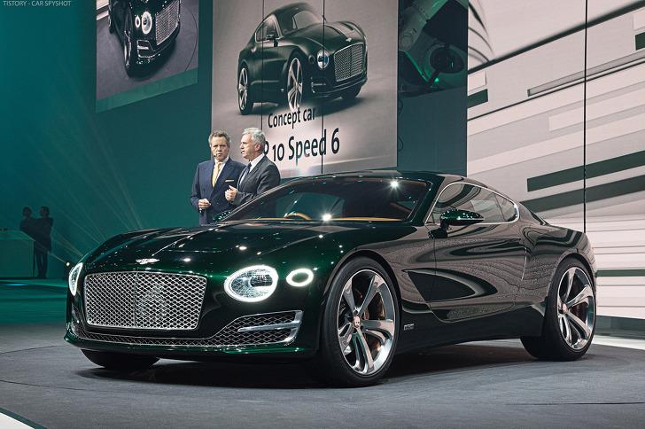 [2015 Geneva] Bentley EXP 10 Speed 6 concept