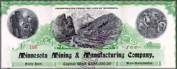 3M(Minnesota Mining and Manufacturing Company) fonuded history 1902, 3M 역사 광산업