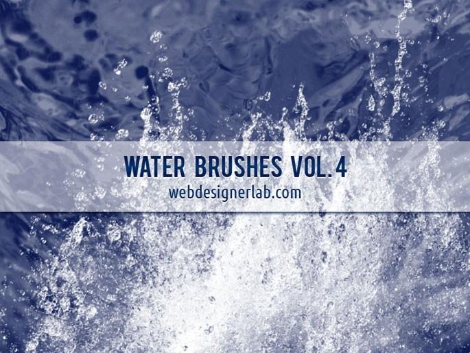 20 가지 물(water) 포토샵 브러쉬 - 20 Free Water Photoshop Brushes