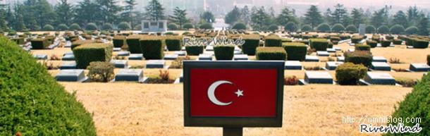 터키군 병사들의 묘지