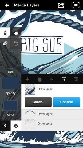 아이폰, 아이패드 Adobe Ideas