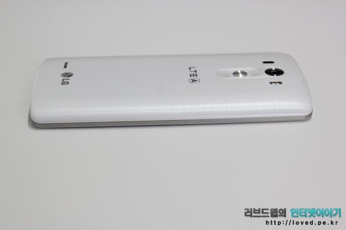 LG G3 화이트