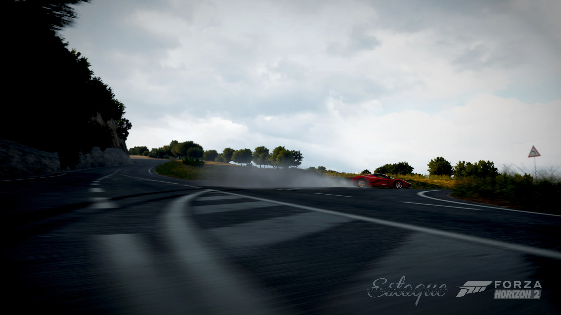 Drifting Laferrari