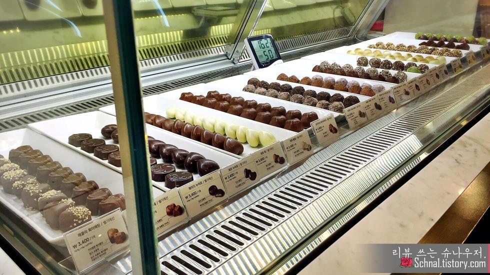 고디바 매장 낱개 초콜릿