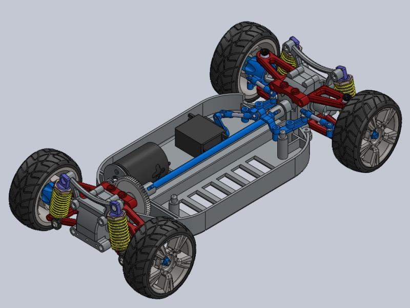 솔리드웍스 | RC Car