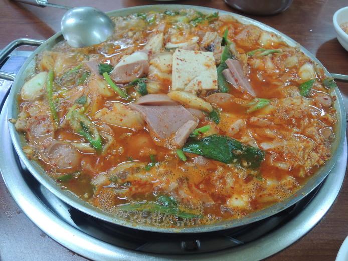동두천 먹거리 소요산맛집 유정부대찌개
