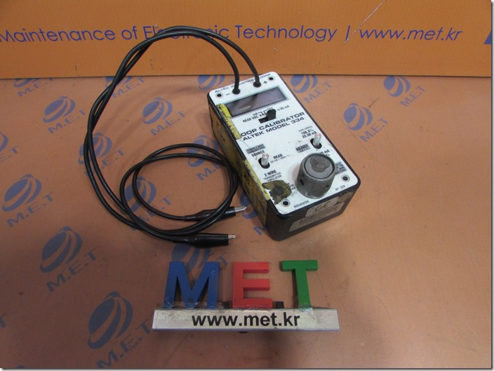 LOOP CALIBRATOR ALTEK MODEL 334-R(1)