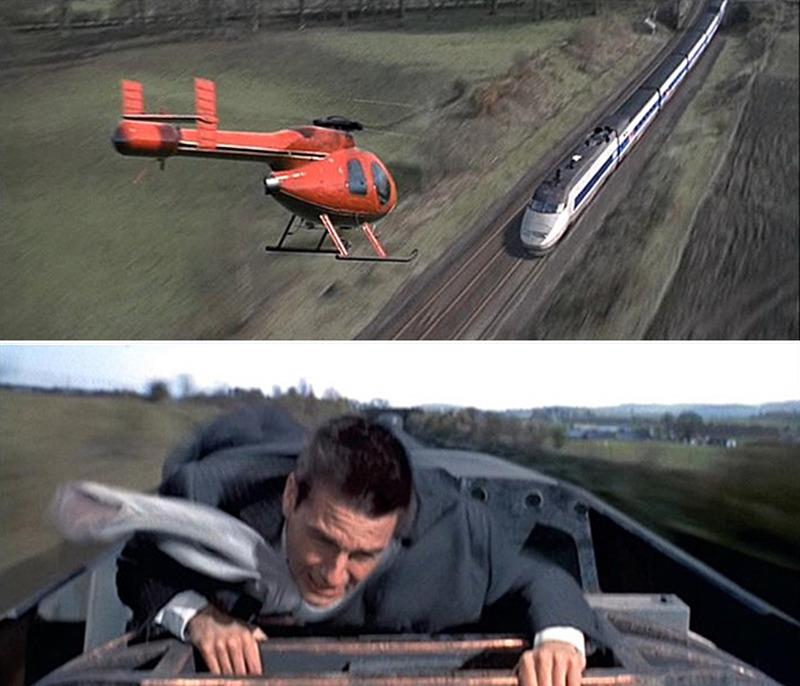 미션 임파서블 속 톰 크루의 기차 액션, 과연 'POSSIBLE'할까?