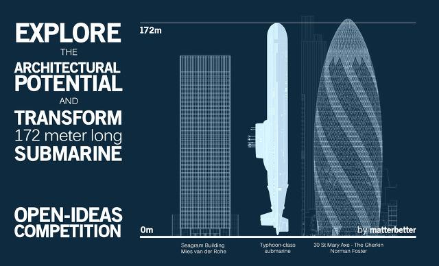 타이푼 잠수함 크기