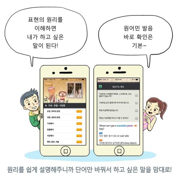 말이되는영어- 여행필수회화 아이폰 여행영어