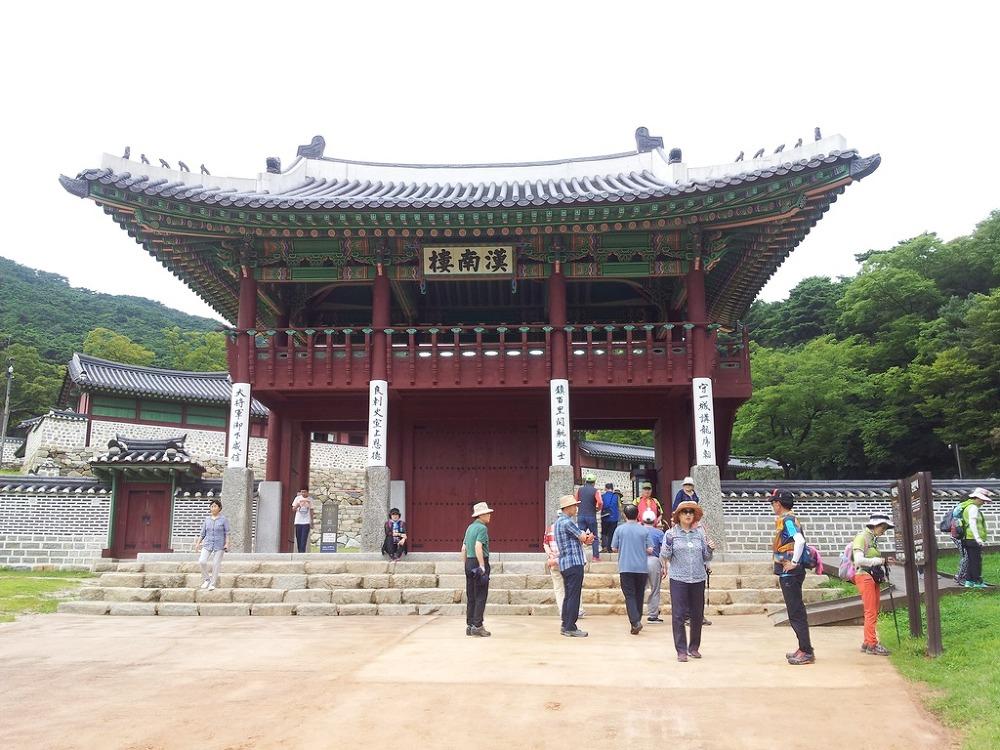 유네스코 세계문화유산에 등재된 남한산성(2)