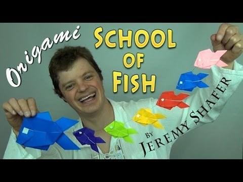 물고기 군단 모빌 (Jeremy Shafer) 종이접기 동영상
