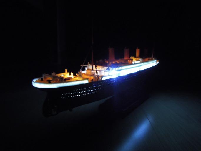 아카데미의 MCP 모델 타이타닉 1/700 프라모델 조립기51