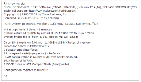 늑대와 향신료 :: [CCNA 640-802] Cisco IOS Questions