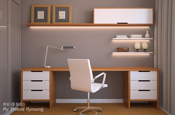 집중력을 높이는 책상 배치