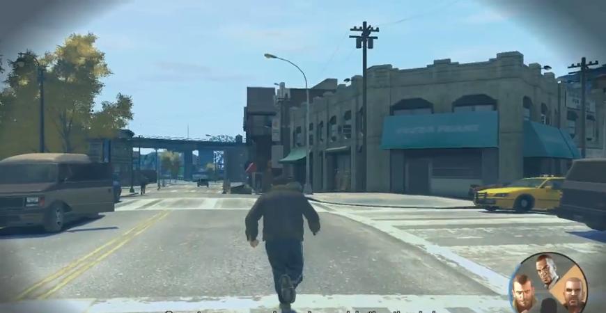 GTA IV 캐릭터 전환 모드