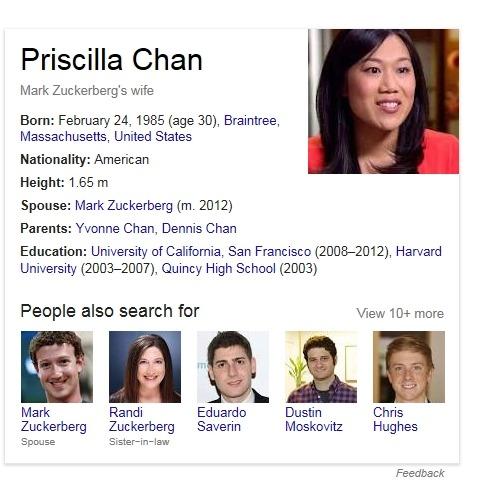 카르페디엠 :: 페이스북, 마크 저커버그 프리실라 챈 러브스토리