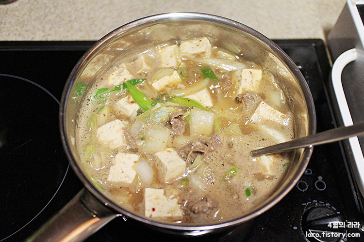 차돌된장찌개맛있게끓이는법