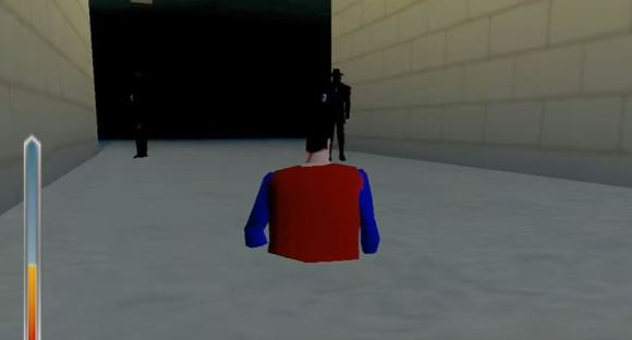 Superman 64 bug