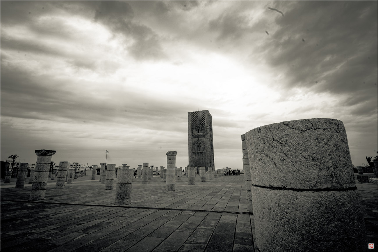 Tower Hassan 하산탑 _ 모로코