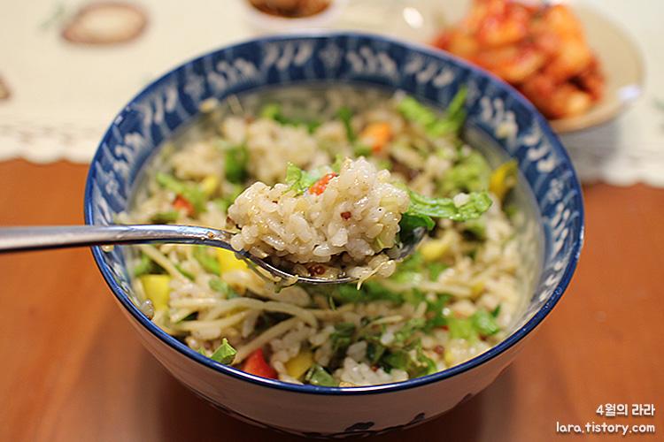 콩나물밥-콩나물밥만들기