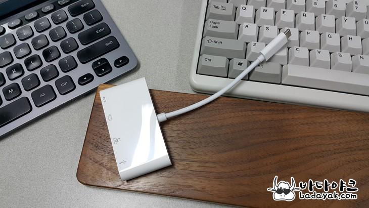 삼성 갤럭시 탭 프로S HDMI·LAN 포트 USB 3.1 (Type-C) 컨버터