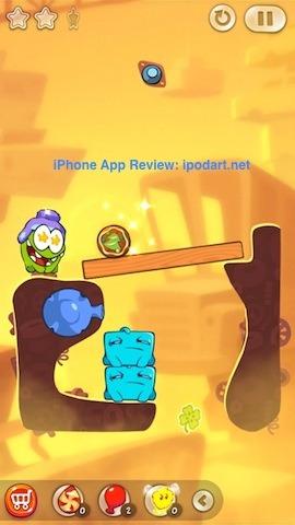 Cut the Rope 2 아이폰 아이패드 추천 퍼즐 게임