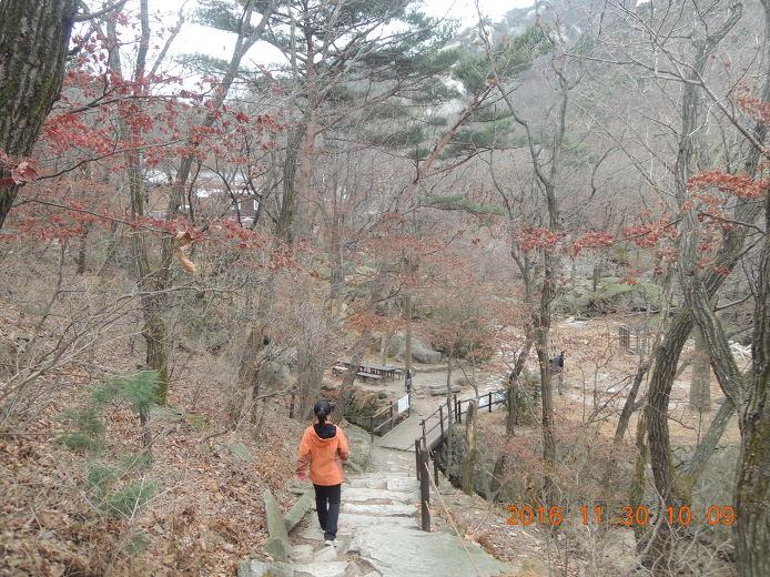 북한산 등산코스 백운대 등산지도