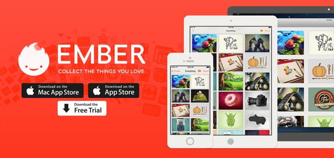 Realmac, iOS용 디지털 스크랩북 'Ember' 무료 출시. 맥 버전과 함께 쓰세요.