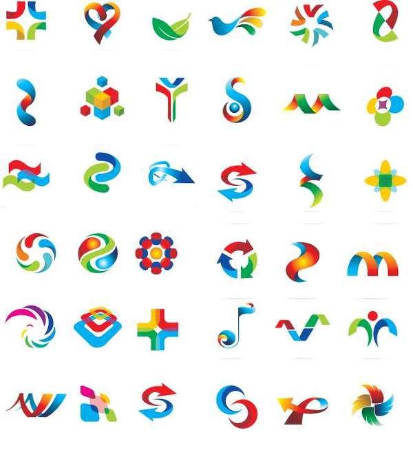 [로고 디자인]로고만들기,로고모음 각종 컬러 logo Design Template Vector Elements