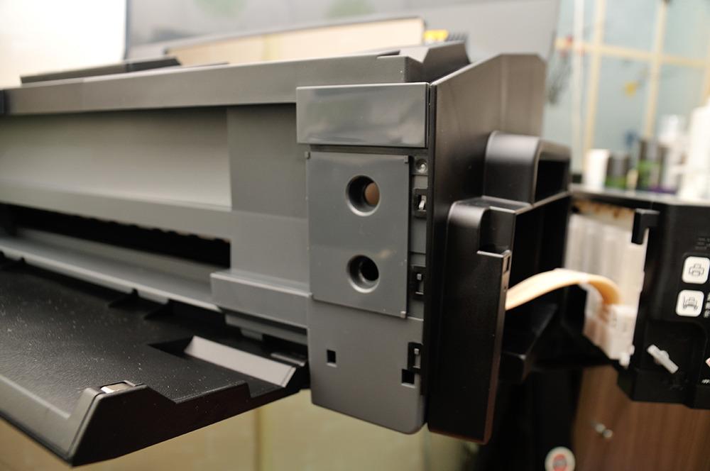 EPSON 정품 무한 L1300 분해 및 폐잉크통 설치