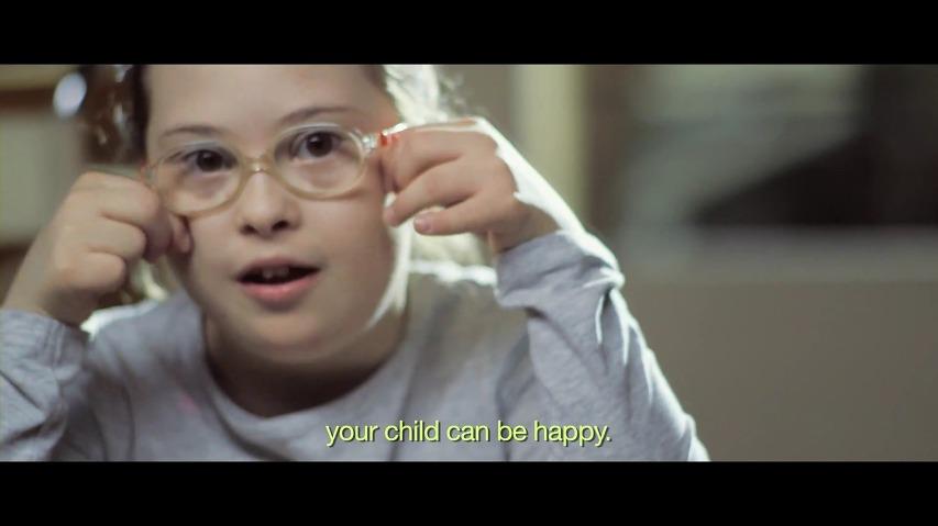 다운증후군 아기를 임신한 예비엄마(Future Mom)에게 보내는 편지 - 세계 다운증후군의 날(World Down Syndrome Day) 온라인 광고영상 [한글자막]