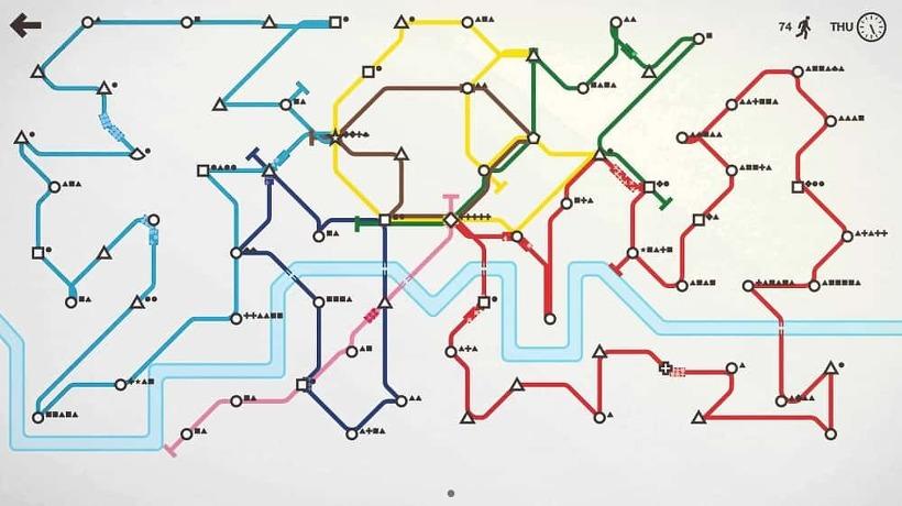 mini metro 공략