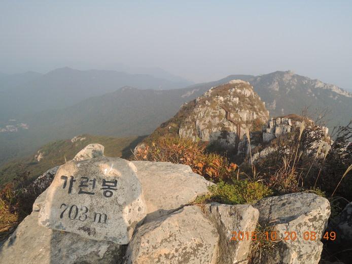 두륜산 등산코스 등산지도