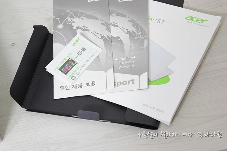 Acer Aspire S7 391, 에이서 Aspire S7-391-53314G12aws, 에이서 아스파이어 s7, 에이서 울트라북, 에이서 아스파이어 s7 후기, 에이서 아스파이어 s7 개봉기, 인텔코리아, 에이서, Acer, 예쁜 울트라북, 얇고 가벼운 울트라북, 윈도우8 울트라북, 윈도우8 터치스크린 울트라북