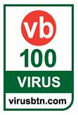 VB100 테스트 통과 안티바이러스 인증마크