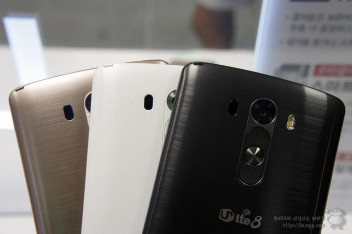 LG G3, 카메라/디스플레이/디자인 기술과 심플 UX들 돋보여