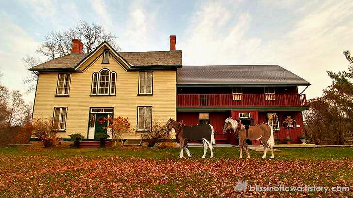 19세기 캐나다 중상류층 주택 입니다.
