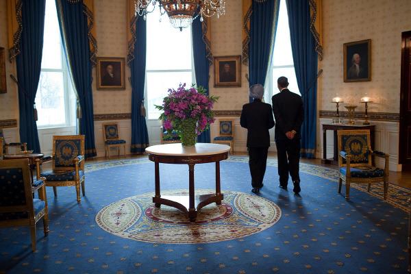 백악관 내부 White House DC