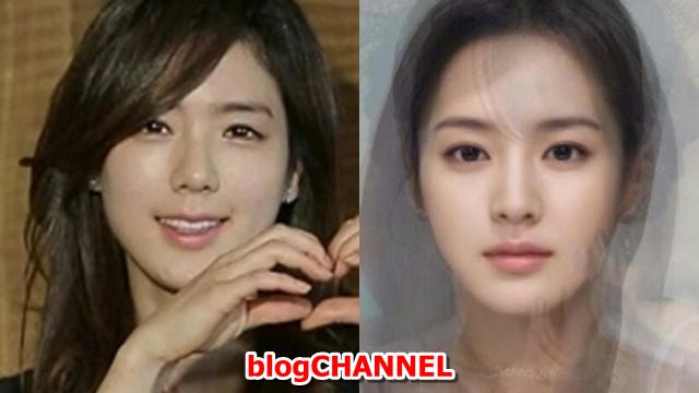 한주희 vs 한국 미녀 합성 닮은꼴?