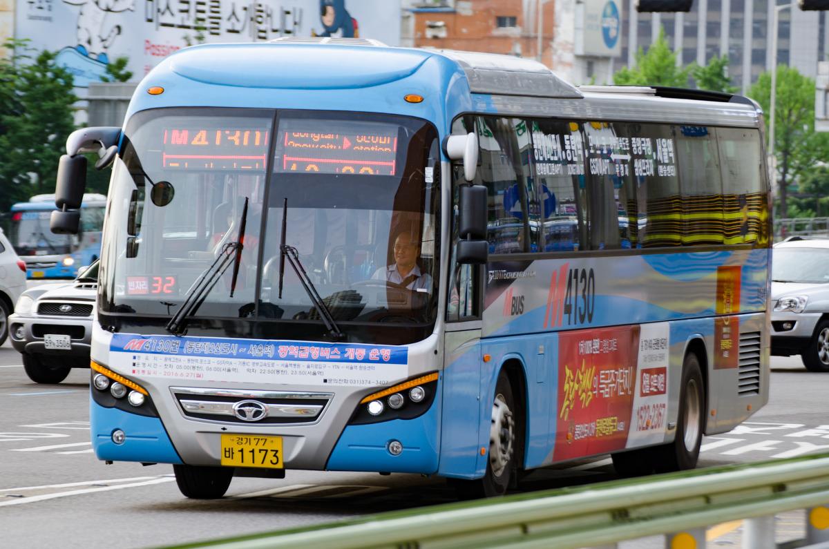首尔站公车