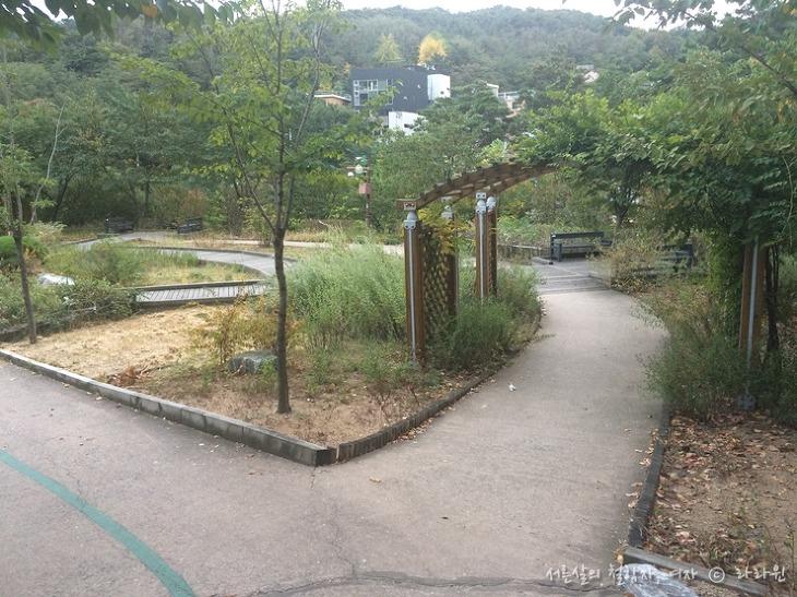 옛성길 장미정원