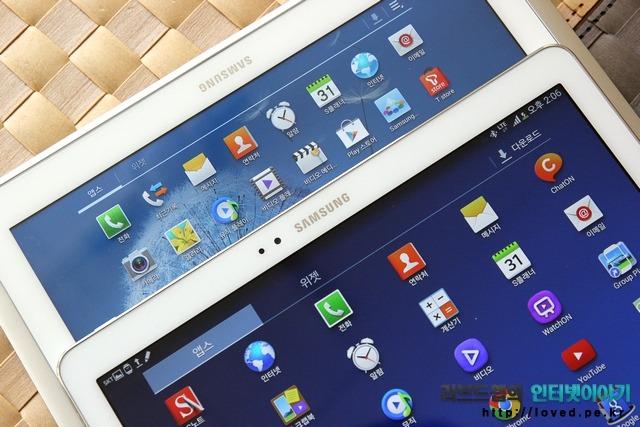 갤럭시노트 10.1 2014 LTE-A 해상도