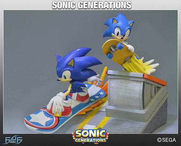 Sonic Generations Diorama Figure