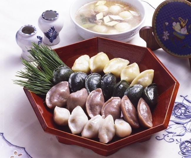 송편, 추석전통음식