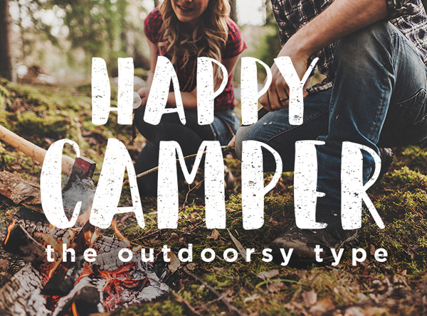 Happy Camper – Free Brush Font