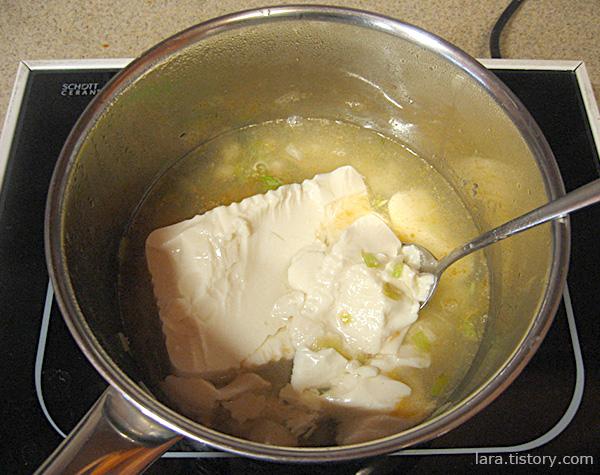 하얀순두부찌개만드는법