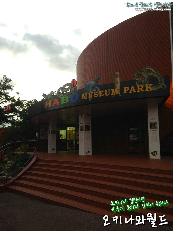 오키나와 류큐왕국 오키나와월드 하부 반시뱀 옥천동굴